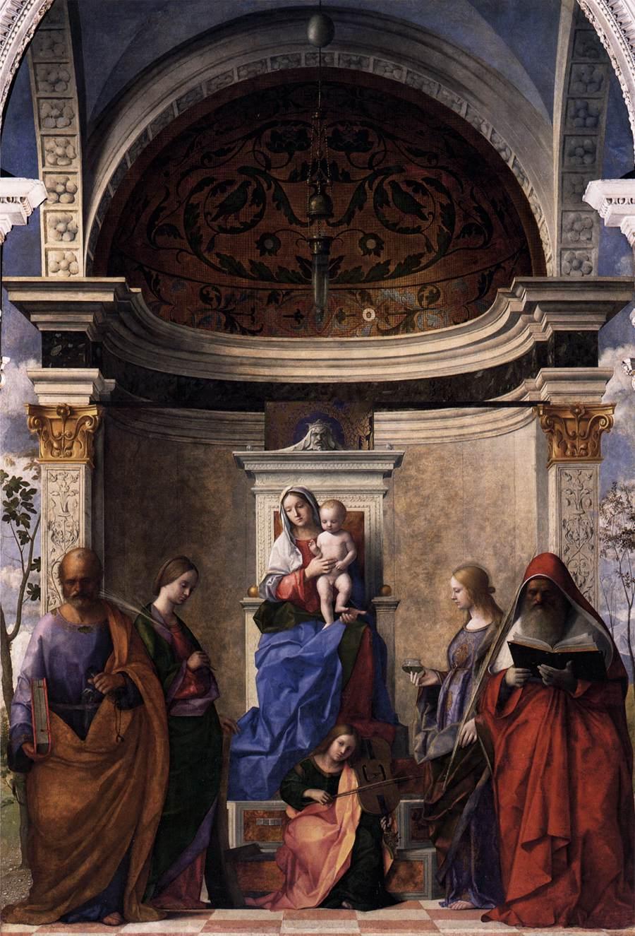 Madonna in trono col Bambino e santi (San Zaccaria Altarpiece)