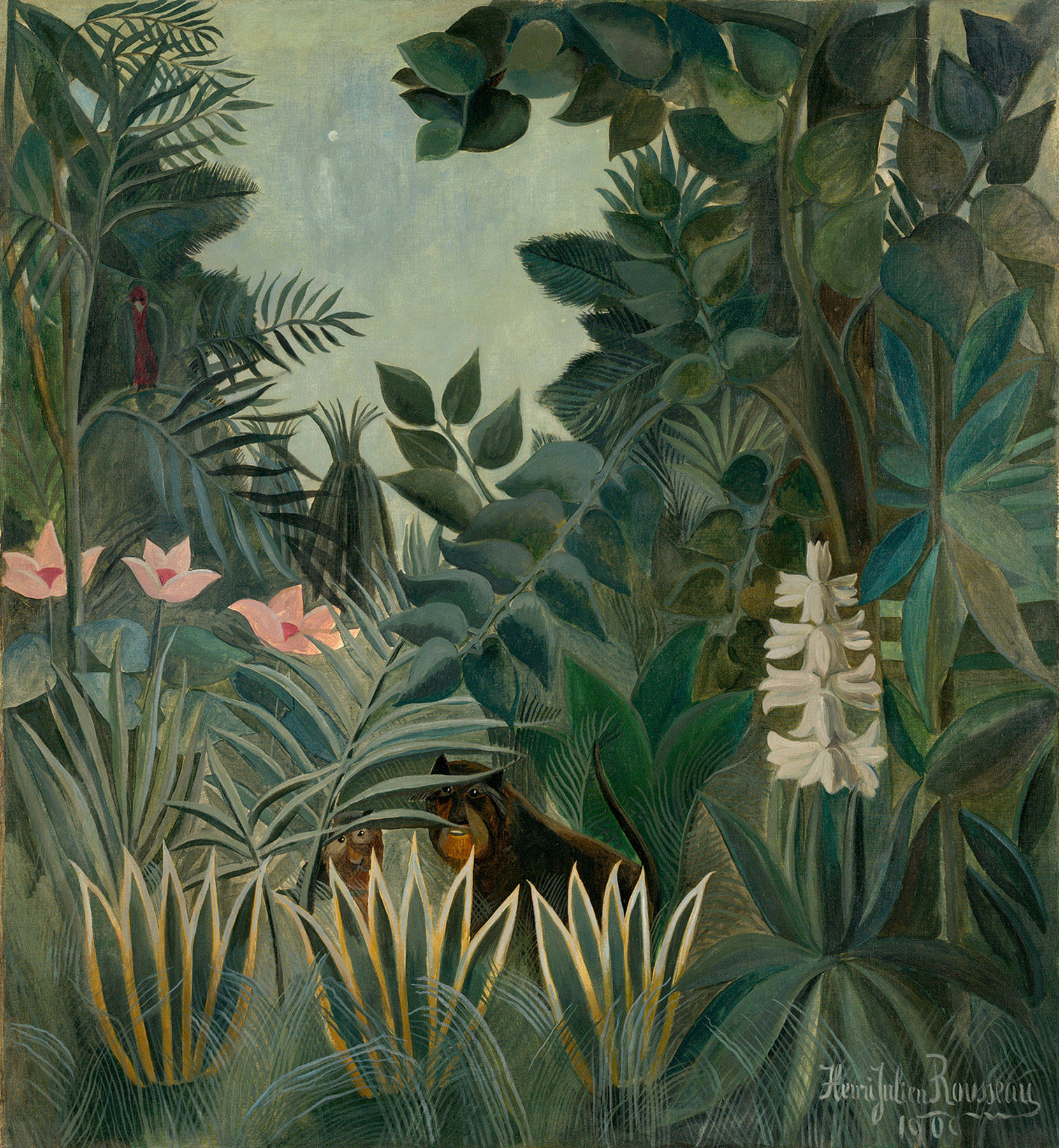 Paysage exotique (1909)