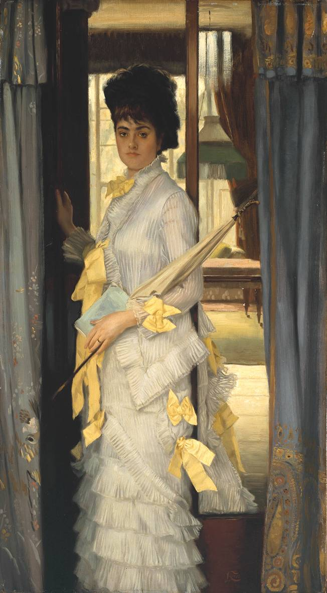 Portrait 1876 by James Tissot 1836-1902