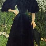 Portrait de Madame M. (c. 1890)