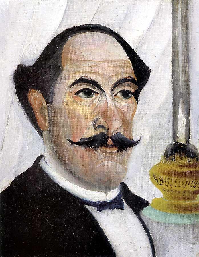 Portrait de l'artiste à la lampe (1903)