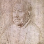 Portrait of Cardinal Niccolò Albergati, drawing (c. 1435)