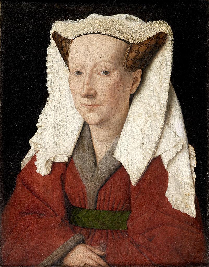 Portrait of Margaret van Eyck (1439)