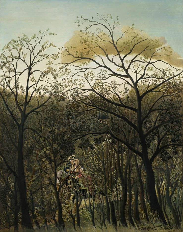 Rendez-vous dans la forêt (1889)