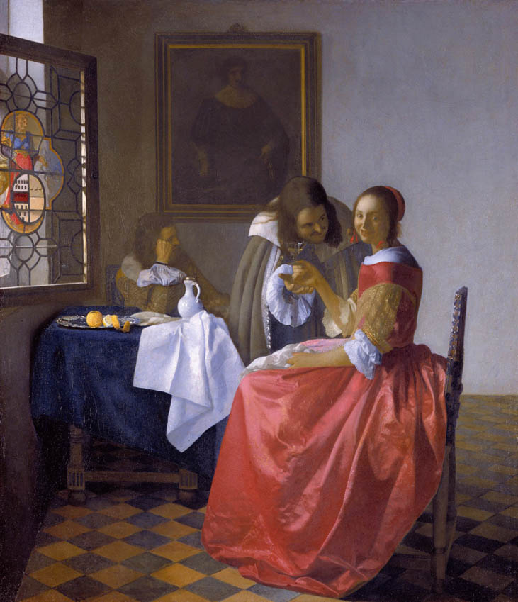 The Girl with the Wineglass (1658-1660)