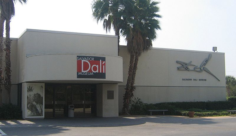 The old Salvador Dalí Museum