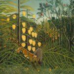 Un bois tropical, combat du tigre et du taureau (1908-1909)