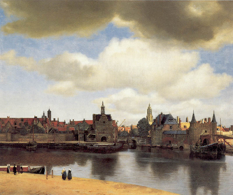 View of Delft (1660-1661)