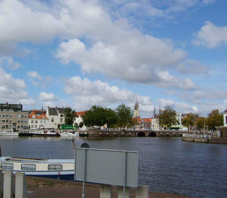 View of Delft today