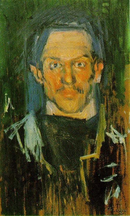 Yo (Self-Portrait, Zervos I, 113)