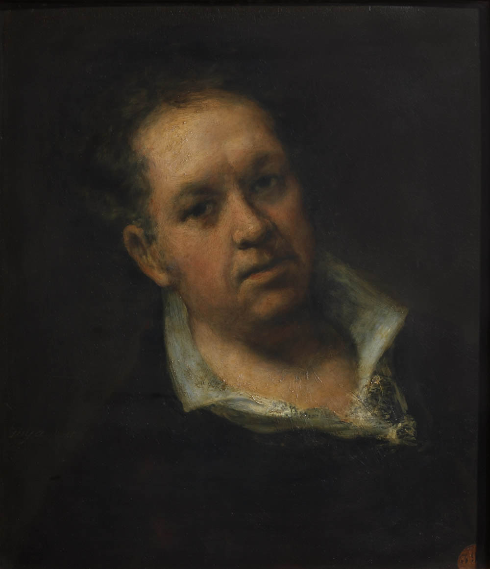 Autorretrato (1815, Academia)