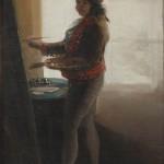 Autorretrato ante su caballete (c. 1785)
