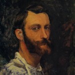 Bazille, Self-Portrait (1870)