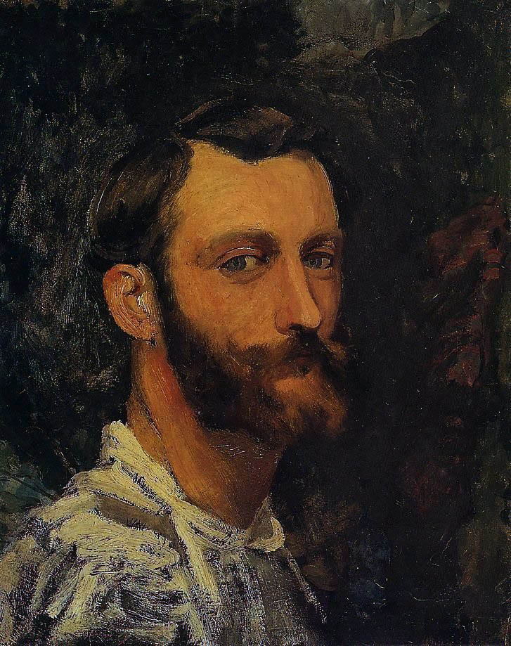 Bazille, Self-Portrait (1870)