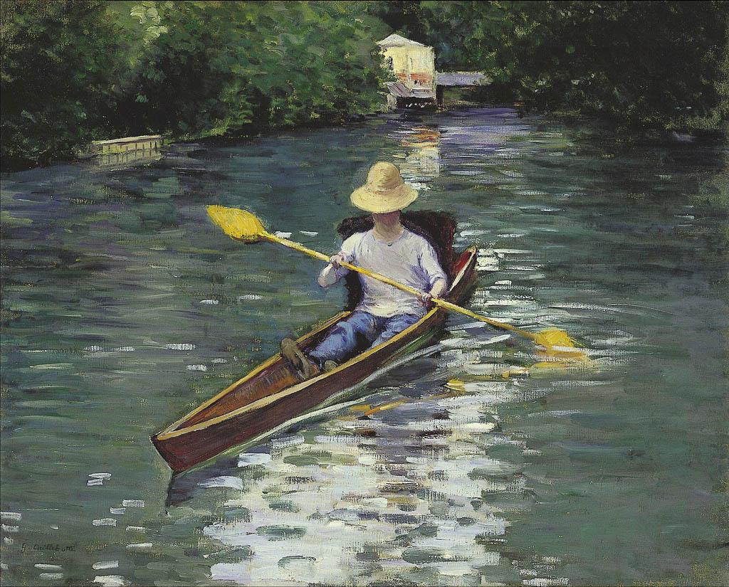 Canoe sur la rivière Yerres (1878)