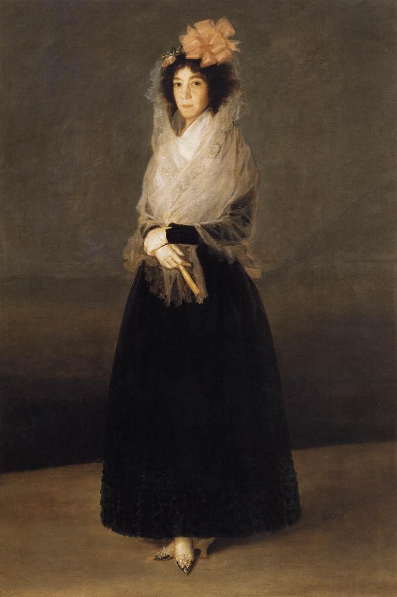 Condesa del Carpio, Marquesa de la Solana (c. 1794-1795)