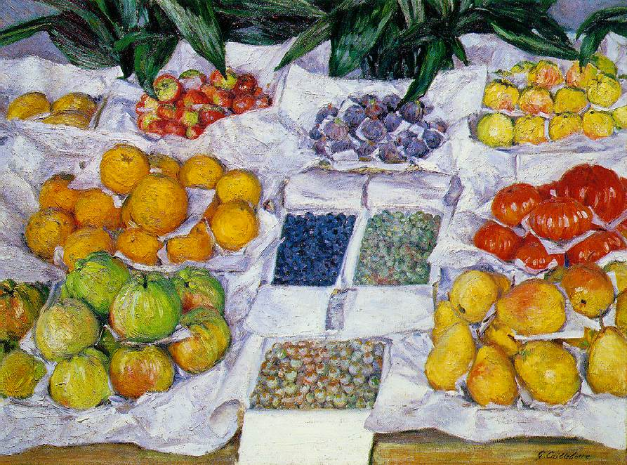 Fruits à l'étalage (1881-1882)