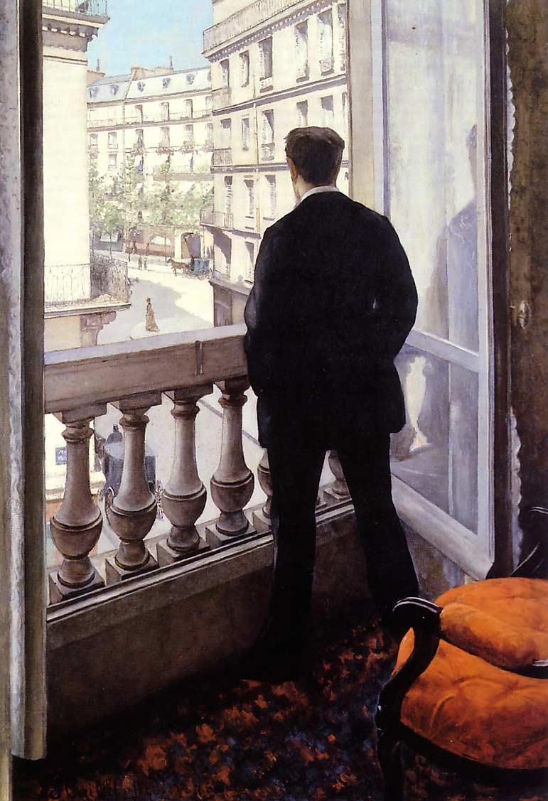 Jeune homme à la fenêtre (1875)
