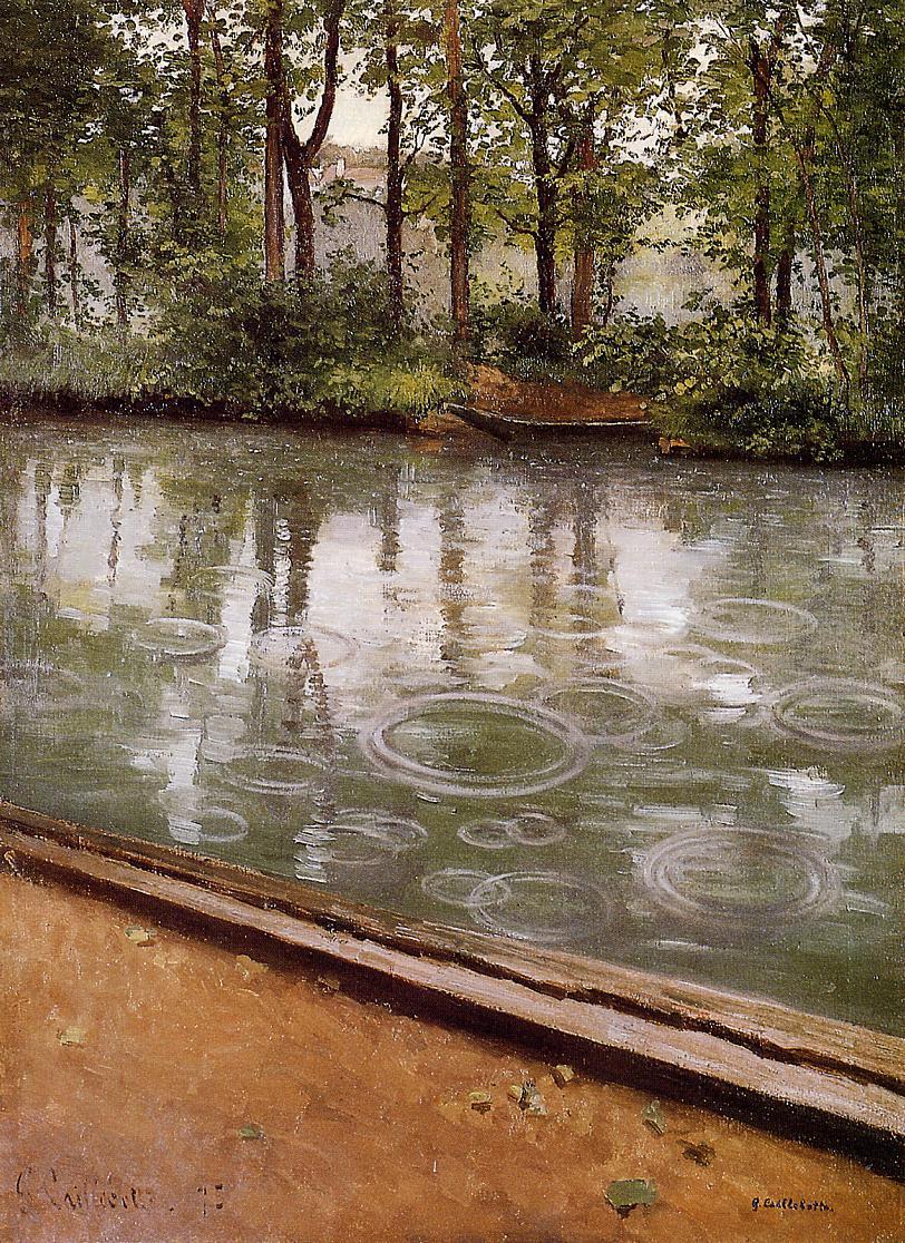 L'Yerres, effet de pluie (1875)