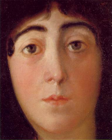La Duquesa de Alba (1797-detail of face)