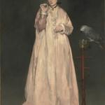 La Femme au perroquet (1866)