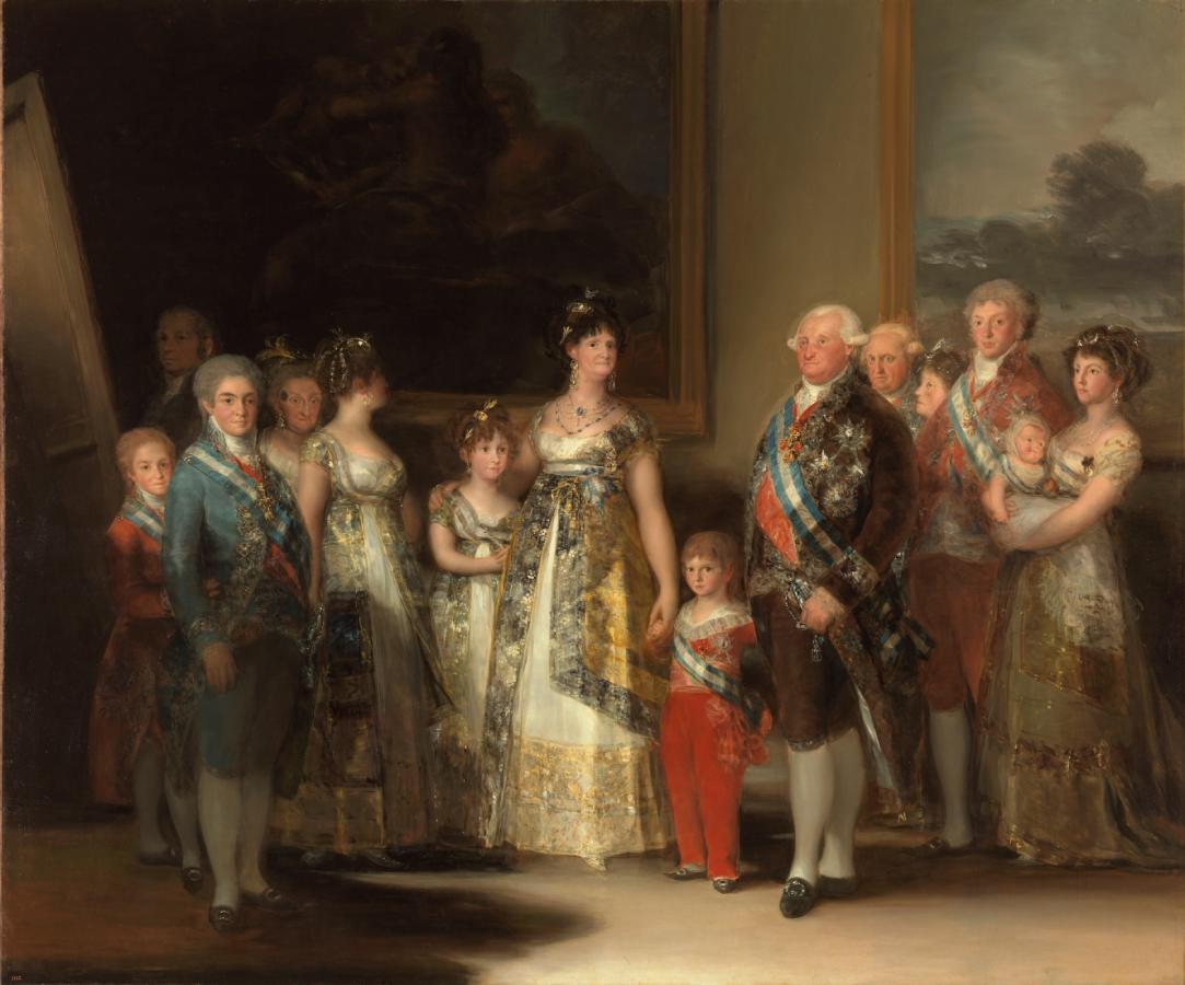 La familia de Carlos IV (1800)