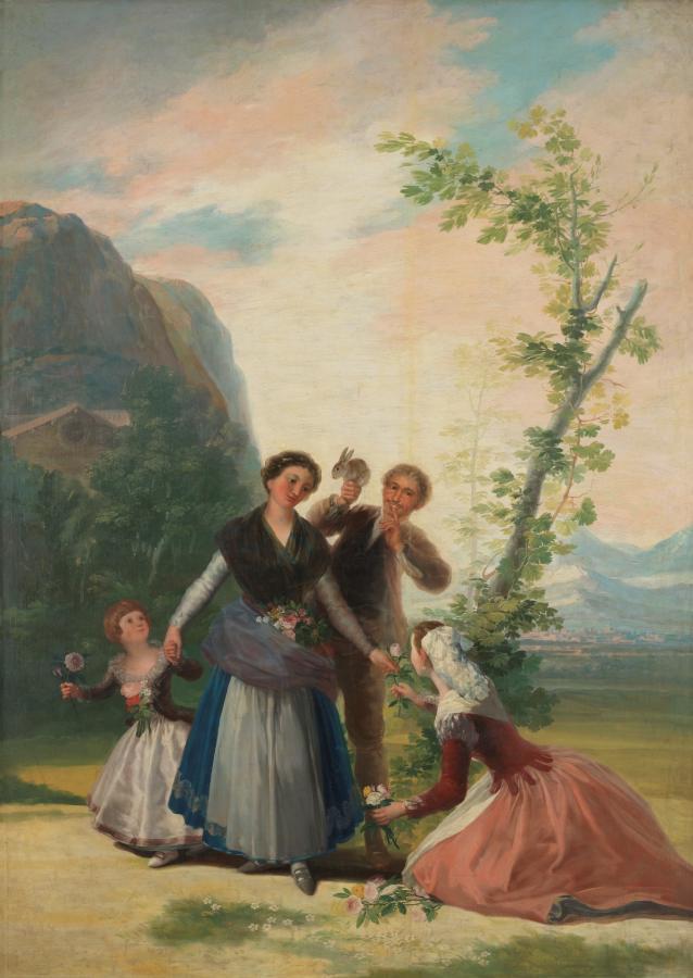 Las floreras, o La Primavera (1786)