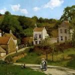 Les côteaux de l'Hermitage, Pontoise (c. 1867)