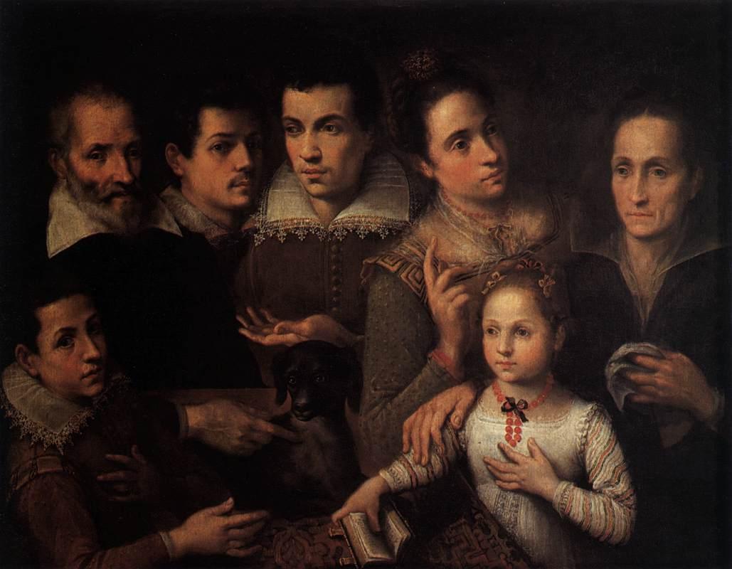 Ritratto di famiglia (1598-1600)