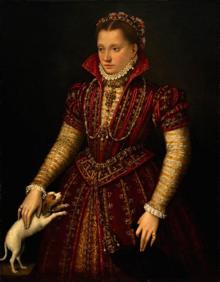Ritratto di nobildonna (c. 1580)