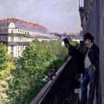 Un Balcon, Boulevard Haussmann (1880)