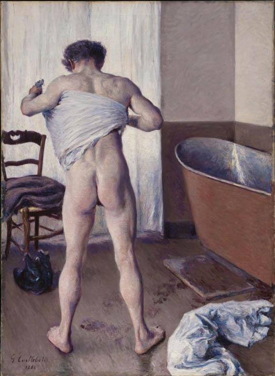 Un homme à son bain (1884)