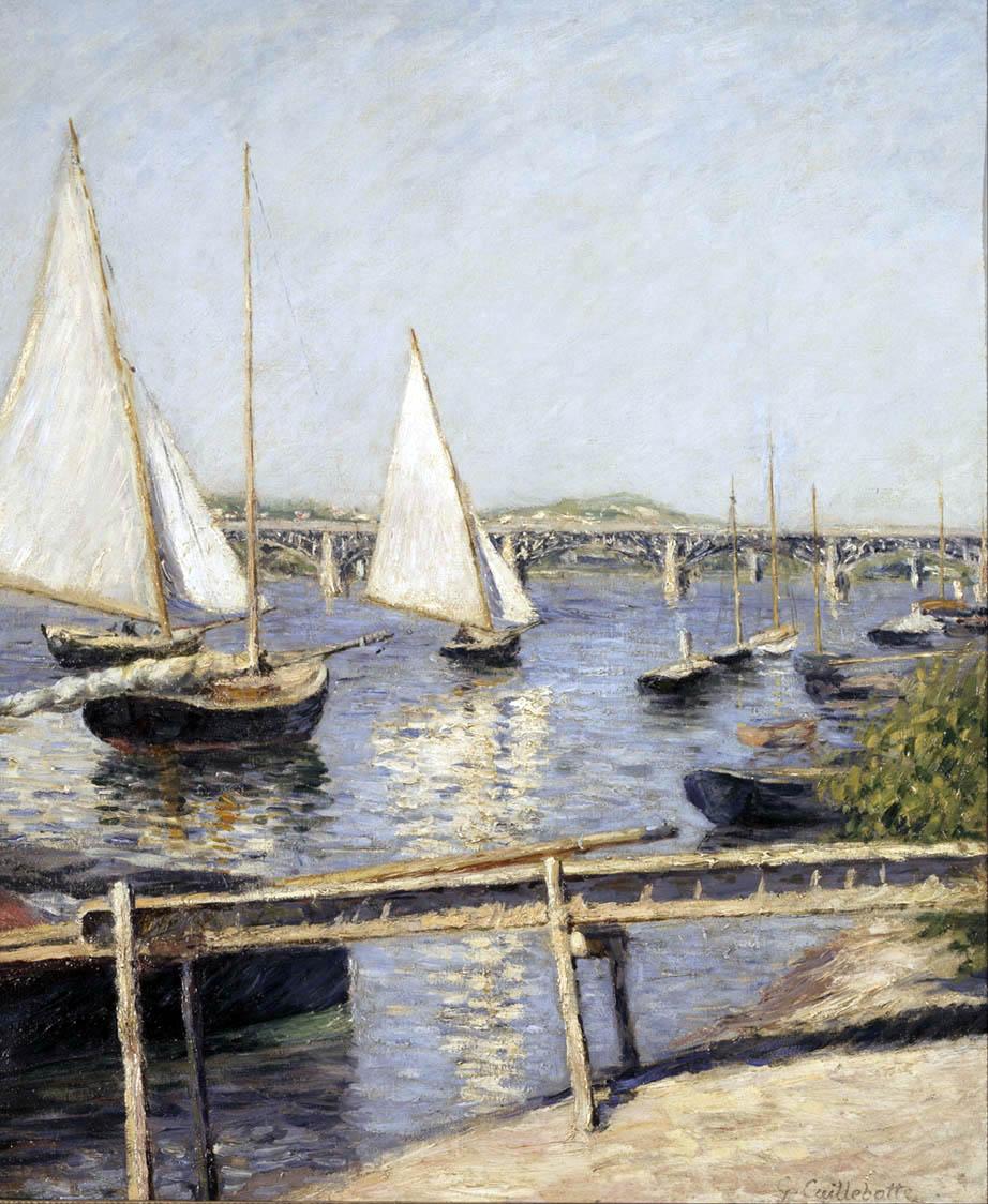 Voiliers à Argenteuil (c. 1888)