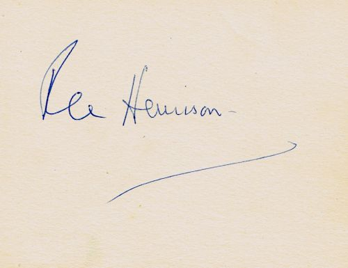 rex-harrison-signature