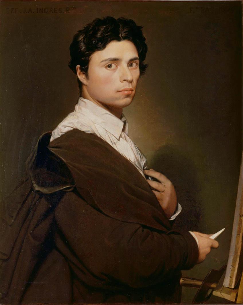 Autoportrait à l'âge de 24 ans (1804)