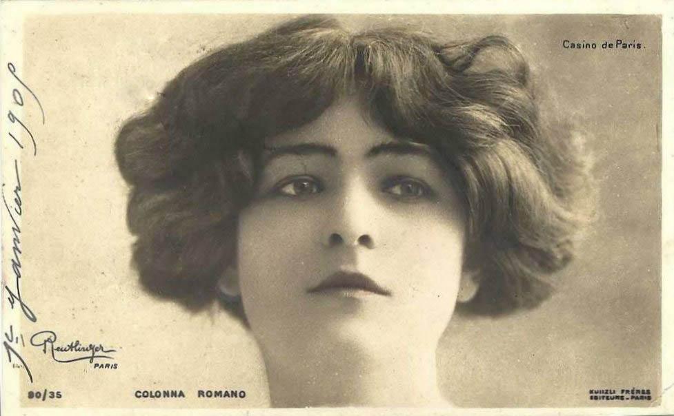 Colonna Romano Postcard (1909)