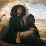 Courbet au chien noir (1842-1844)