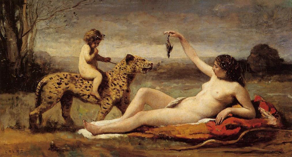 La Bacchante à la Panthère (1860)