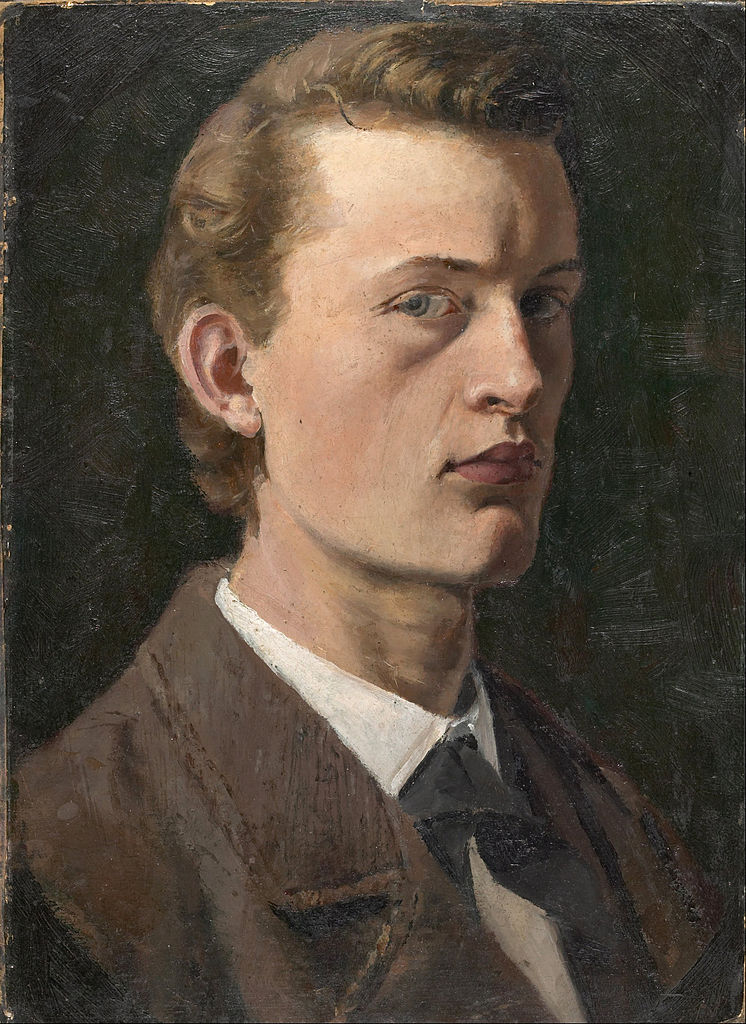 Self-Portrait (Munch, 1882)