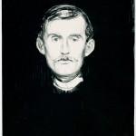 Self-Portrait (Munch, 1895)