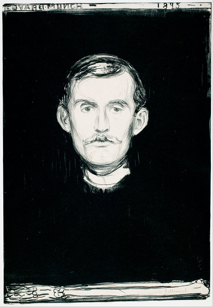 Self-Portrait (Munch, 1895)