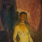Self-Portrait in Hell (1903)