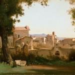 Vue depuis les jardins Farnèse (1826)