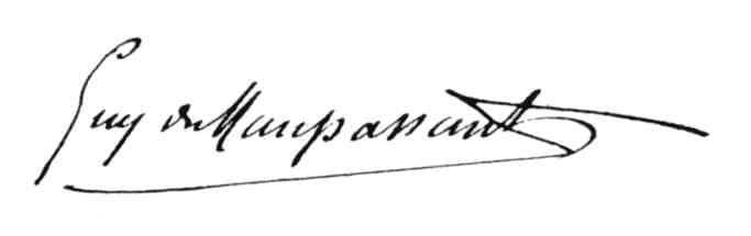 maupassant-signature