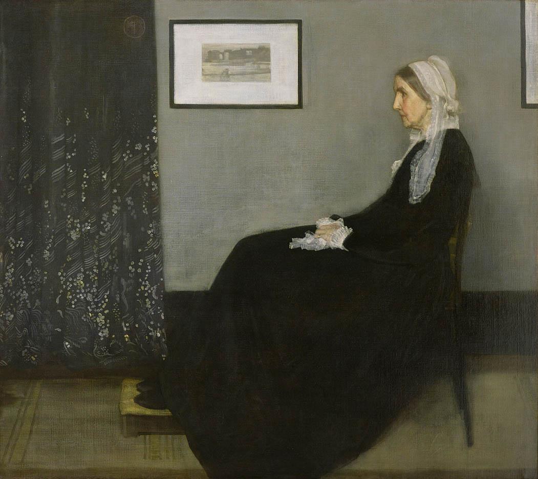 Arrangement in Grey and Black (1871)