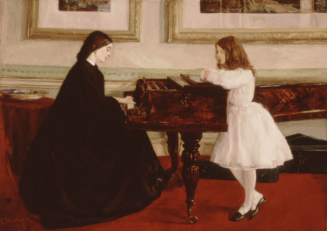 At the Piano (1858-1859)