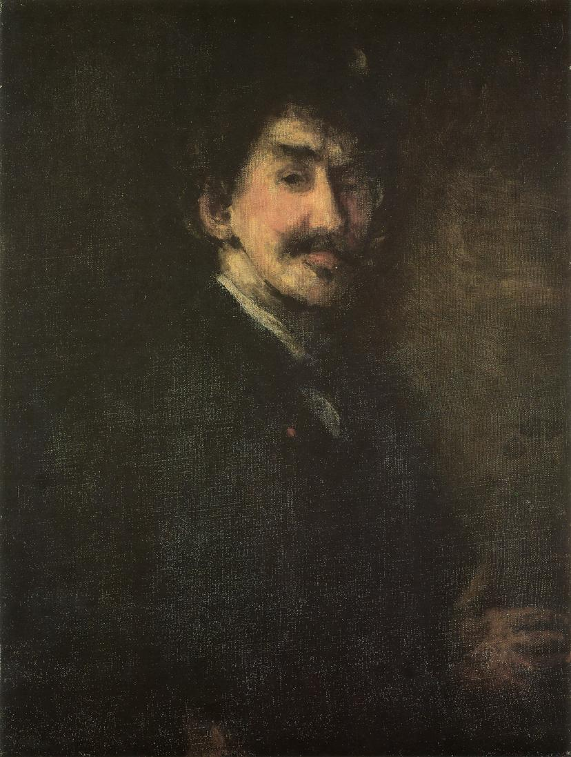 Gold and Brown, Self-Portrait (1896-1898)