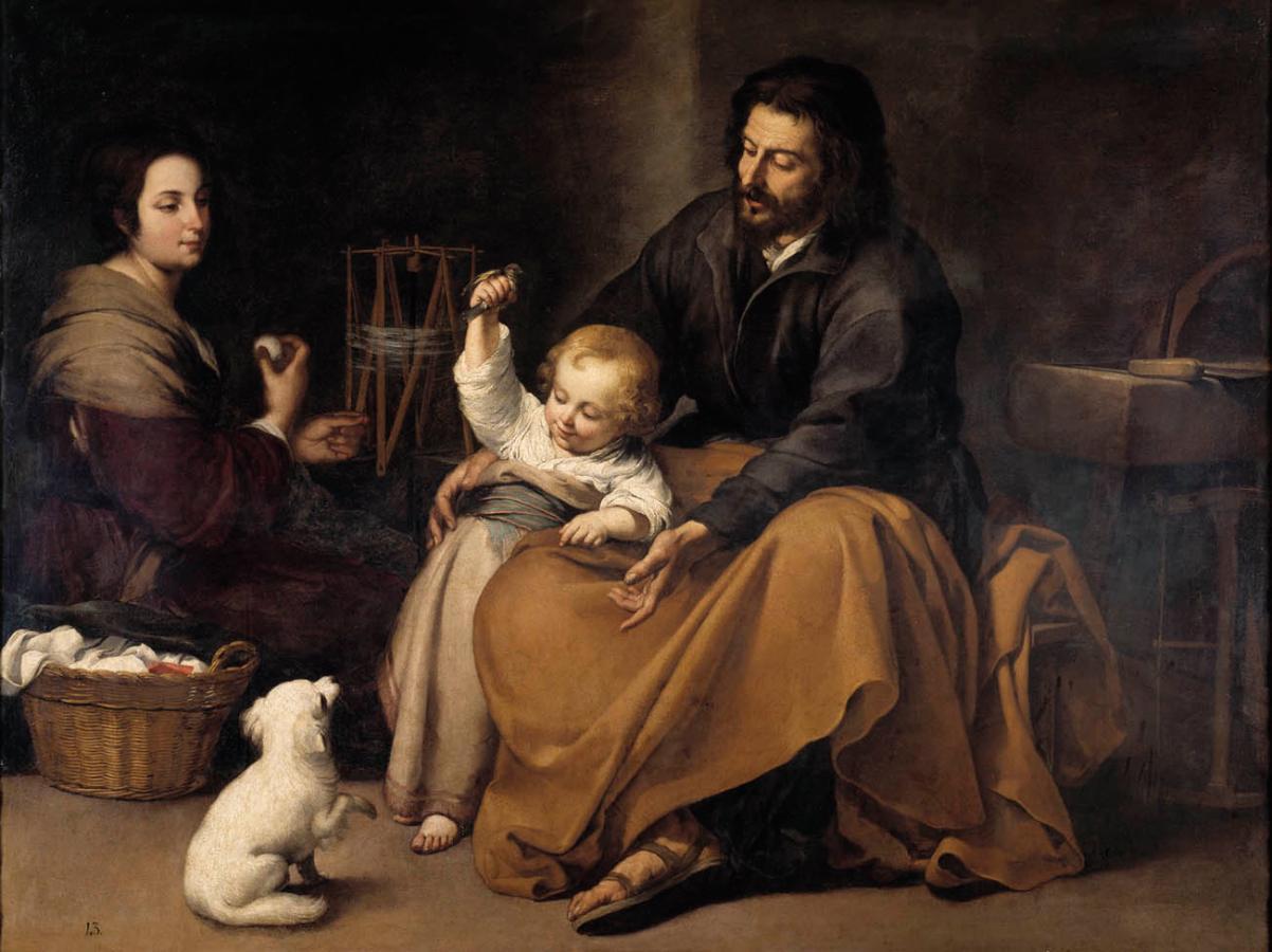 Sagrada Familia del pajarito (c.1650)
