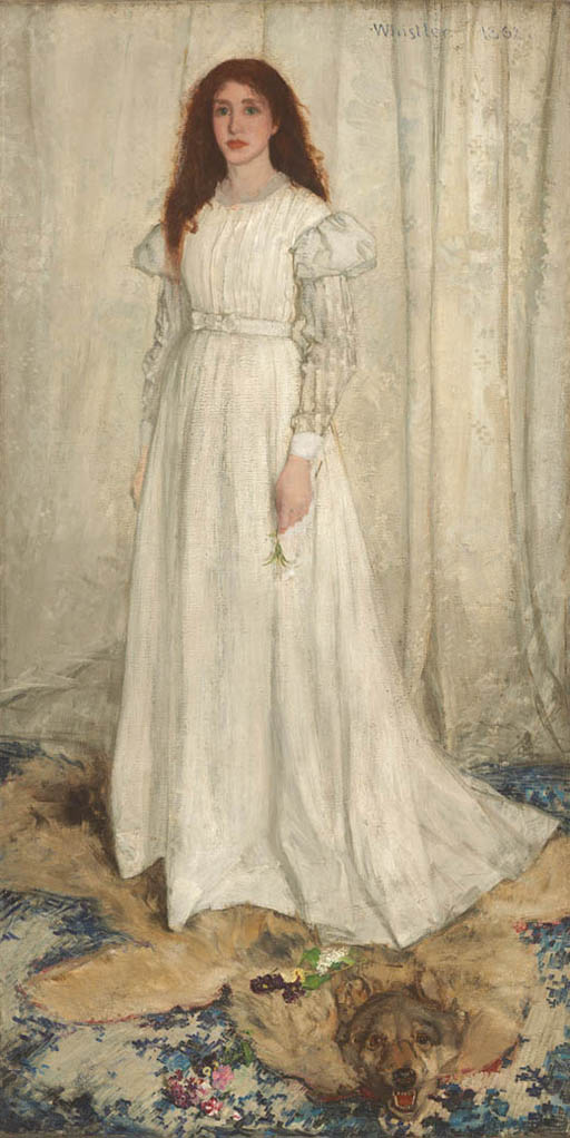Symphony in White, The White Girl (1862)