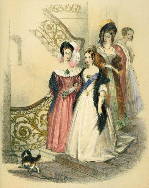 Victoria-and-ladies-in-waiting